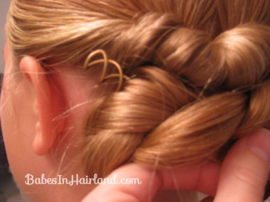 Easy Rolled Braid Updo (10)