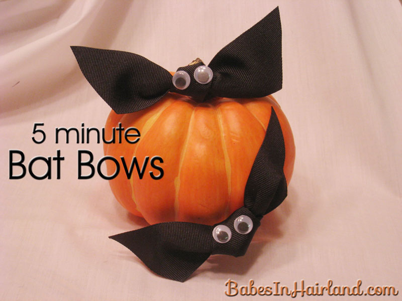 Bat Bows for Halloween (1)