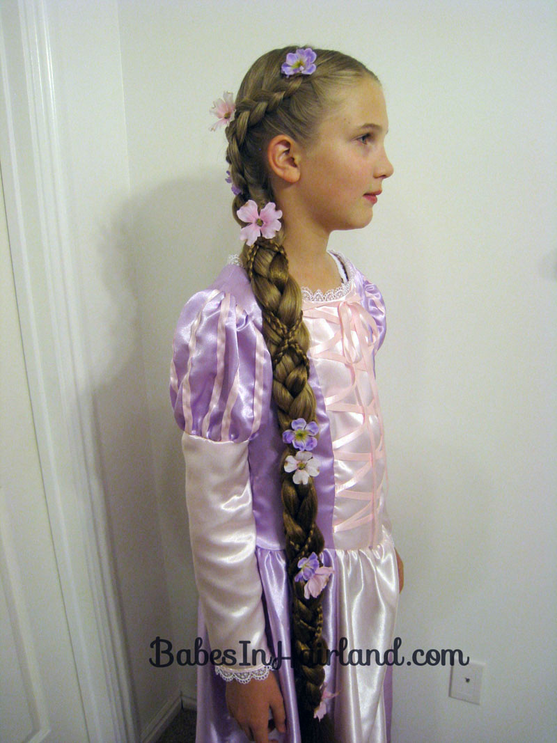 French Braid With Weave Solution For How To For Dummies; Rapunzel Hair  Tutorial Using Extensions