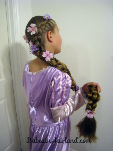 Rapunzel Hair with Extensions from BabesInHairland.com