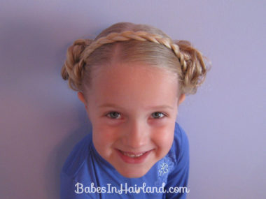 Braid Headband & Messy Buns (1)