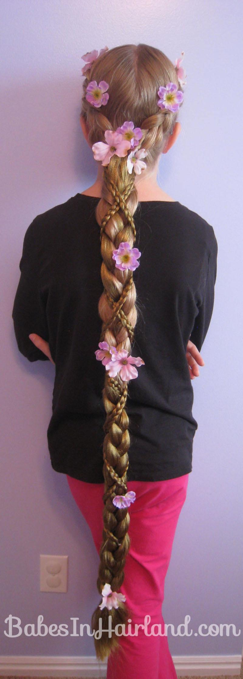 Rapunzel Hair Tutorial - Using Extensions