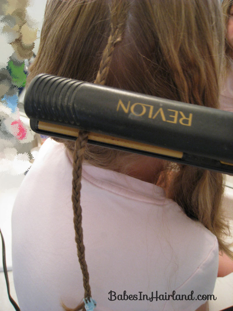 How To Get Waves From Braids A Flat Iron Babes In Hairland