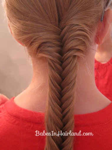Braids & Fishbone Bun (5)