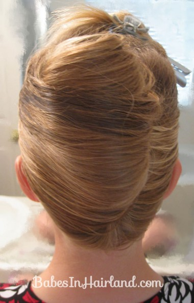 Elegant French Twist Updo (6)