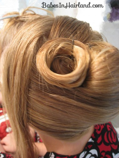 Elegant French Twist Updo (9)
