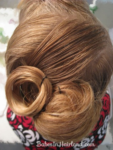 Elegant French Twist Updo (10)