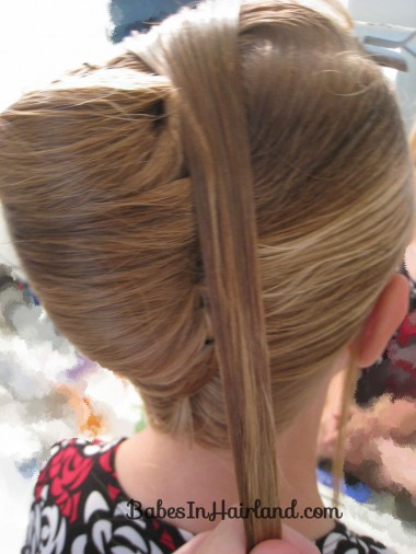 Elegant French Twist Updo (12)