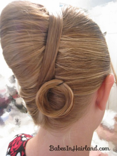 Elegant French Twist Updo (13)