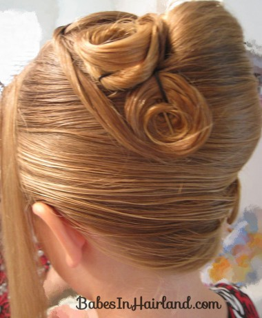 Elegant French Twist Updo (18)
