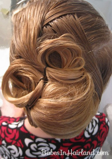 Elegant French Twist Updo (19)