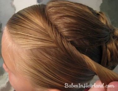 Elegant French Twist Updo (21)