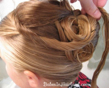 Elegant French Twist Updo (22)