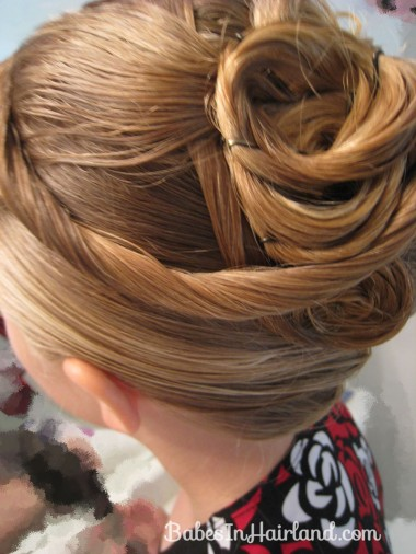 Elegant French Twist Updo (23)