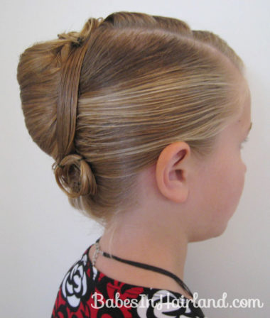 Elegant French Twist Updo (26)