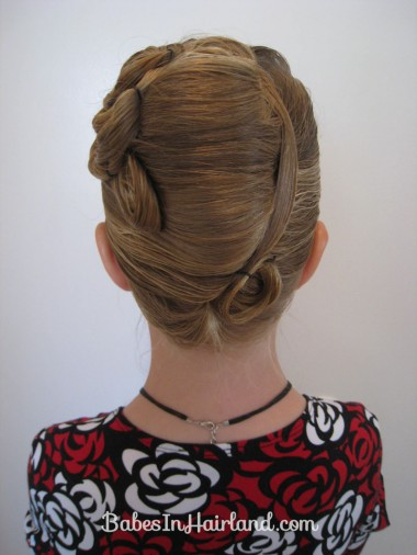 Elegant French Twist Updo (27)