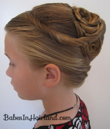 Elegant French Twist Updo (24)