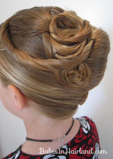 Elegant French Twist Updo (25)