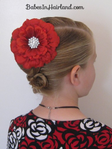 Elegant French Twist Updo (31)