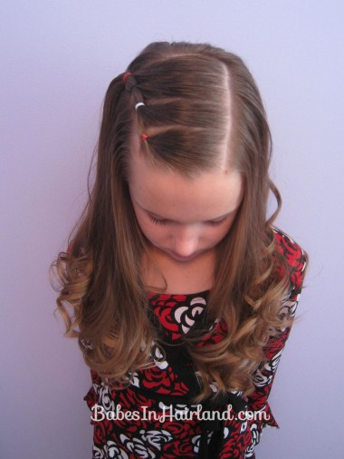 hair styles with twist pull back braids on the side in hairland 9129