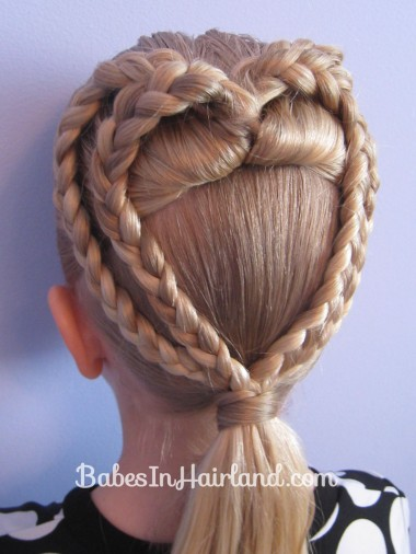 2 Braided Hearts | Valentines' Hairstyle (11)