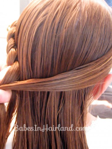 Half French Braid Hairstyle - BabesInHairland.com (6)