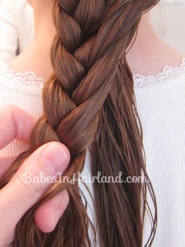 Half French Braid Hairstyle - BabesInHairland.com (9)