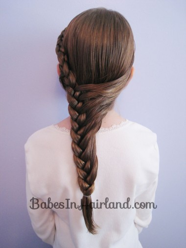 Half French Braid Hairstyle - BabesInHairland.com (12)