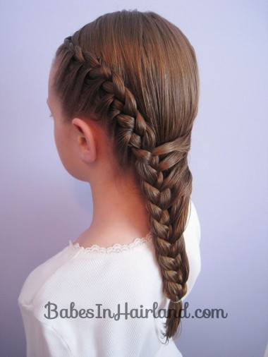Half French Braid Hairstyle - BabesInHairland.com (13)