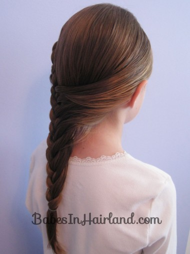 Half French Braid Hairstyle - BabesInHairland.com (14)