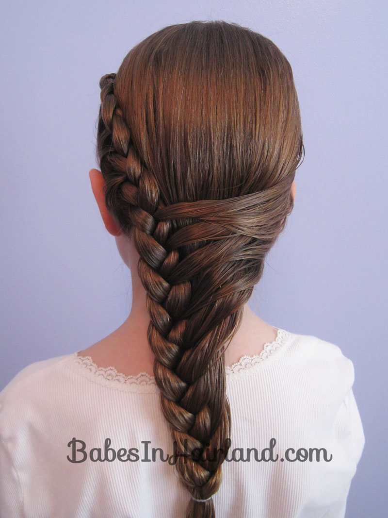 Teenage Hairstyles With Braids: Hairstyles for women the waterfall ...