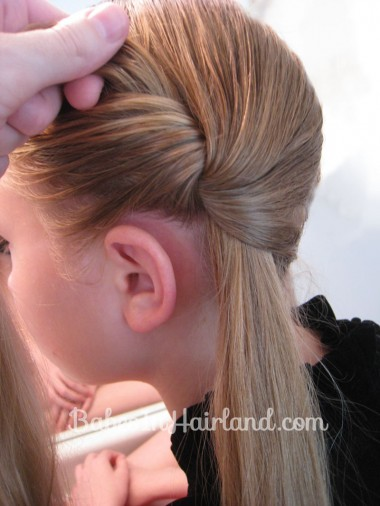 Chunky Knot Milkmaid Braids - BabesInHairland.com (3)