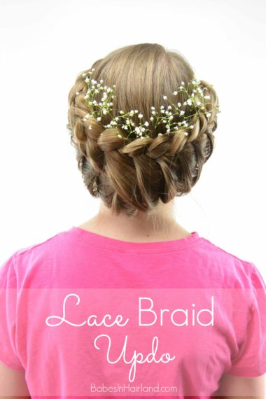 Lace Braid Updo | Wedding Hair | BabesInHairland.com #hair #lacebraid #hairstyle #bridal #wedding