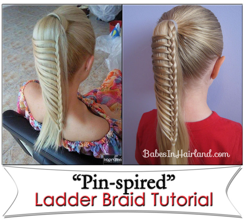 Steps to do a Ladder Braid Ladder Braid 8