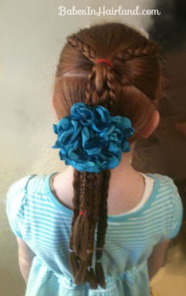 Ponytails and Braids Hairstyle (16)
