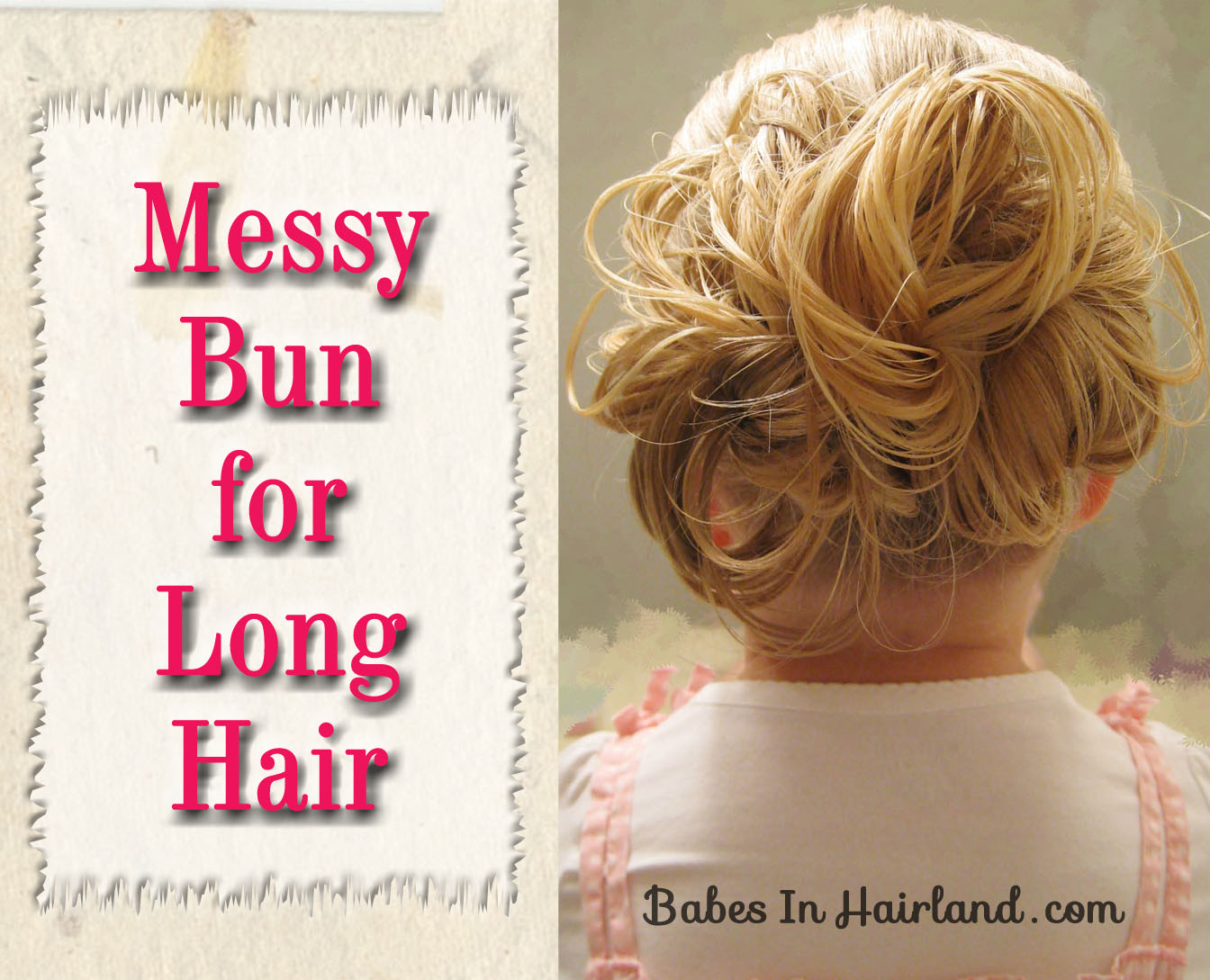 Messy Bun for Long Hair (1)