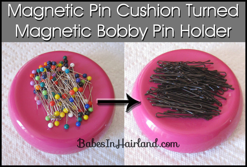 Bobby Pin Storage - Magnetic Pin Cushion
