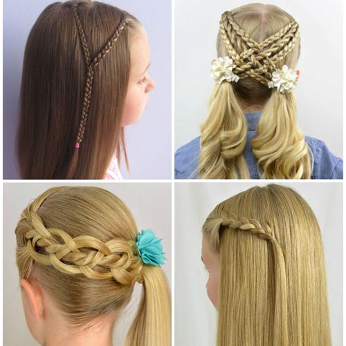 Astounding Back To School Braided Hairstyles Braids Short Hairstyles Gunalazisus
