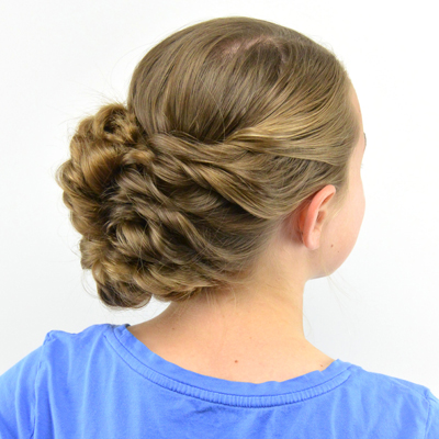 haircut for babies flipped braid updo in hairland 2109