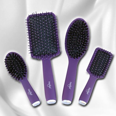 Style & Shine Brushes by Hair Flair | BabesInHairland.com #brushes #hair #hairstyles