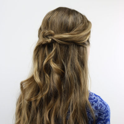 Pretzel Knot Pullback & Curls