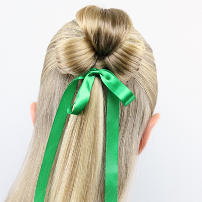 St. Patrick's Day Hairstyle