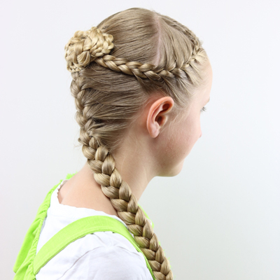 bun hair style braids and knotted bun a hairstyle for every season 2559