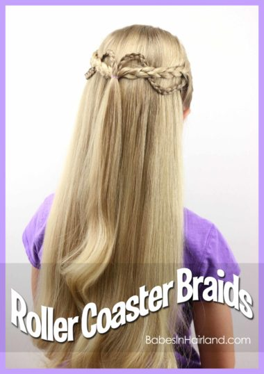 Roller Coaster Braids from BabesInHairland.com #braids #hair #hairstyle #backtoschoolhairstyle