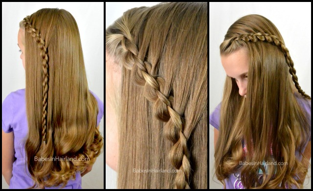 3D-Round 4 Strand Lace Braid from BabesInHairland.com