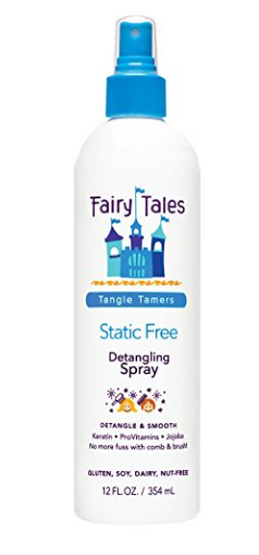 Fairy Tales Detangling Spray is great for getting out tangles in all hair types, especially curls. BabesInHairland.com