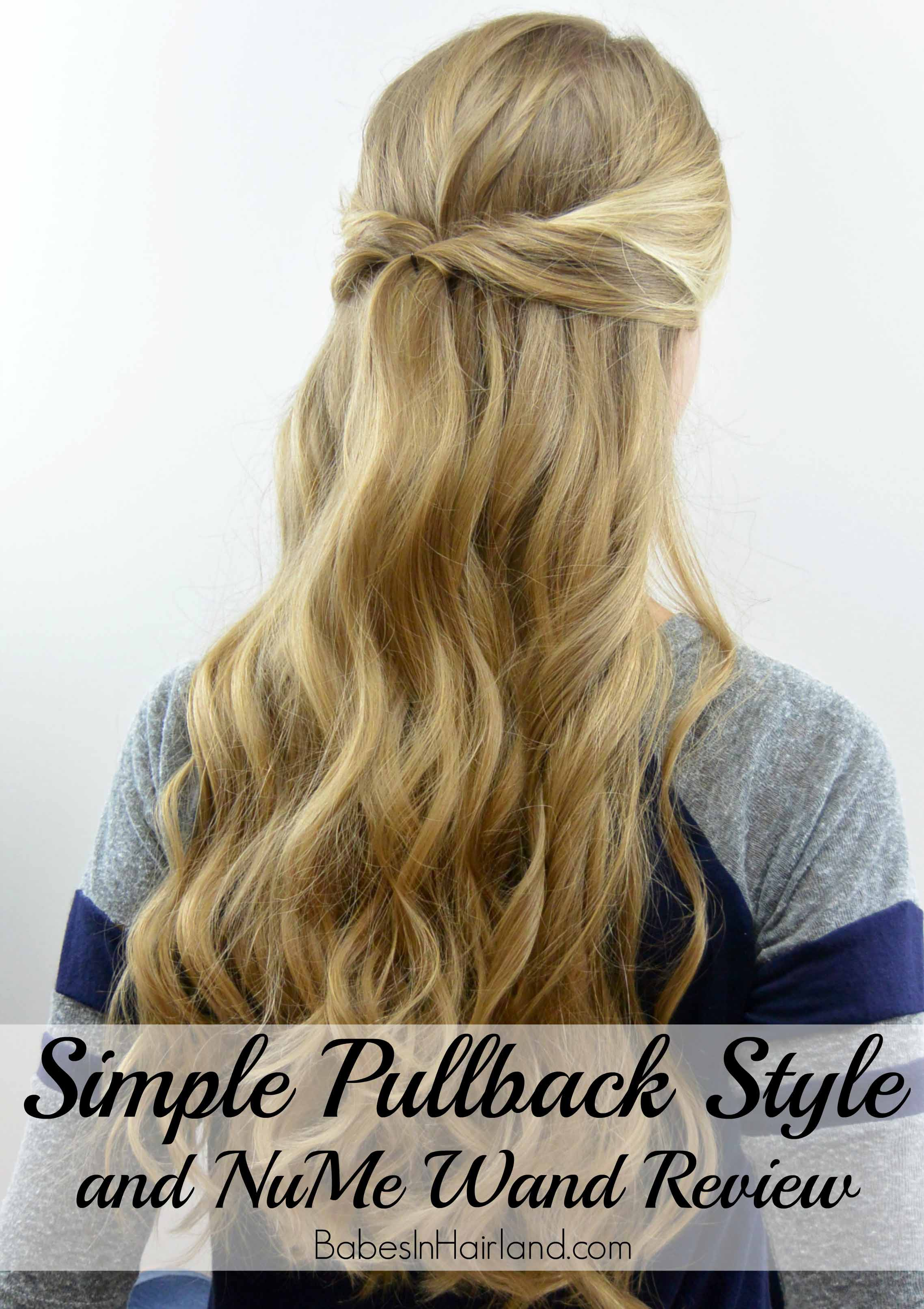 curling wand hair styles simple pullback amp curls nume wand review in hairland 1344