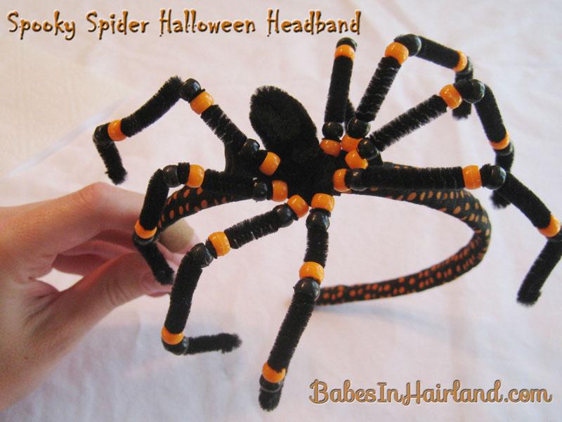 Spooky Spider Halloween Headband (13)