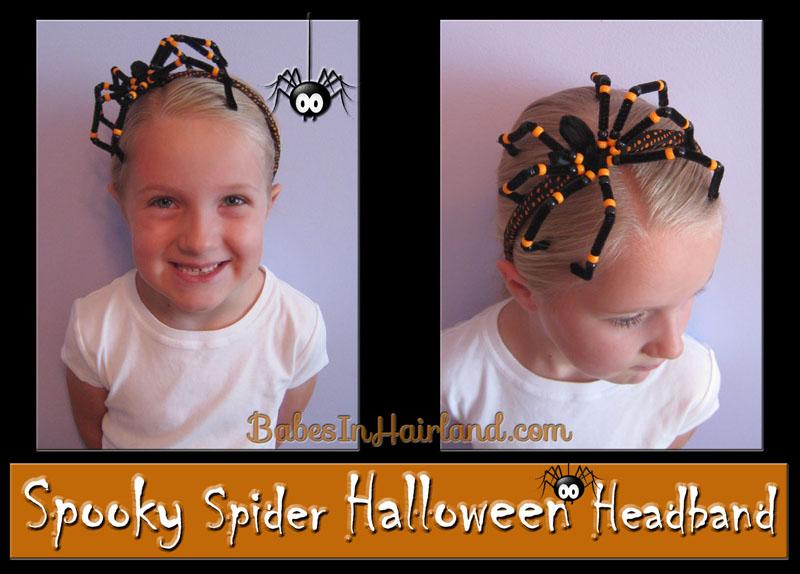 Spooky Spider Halloween Headband (1)
