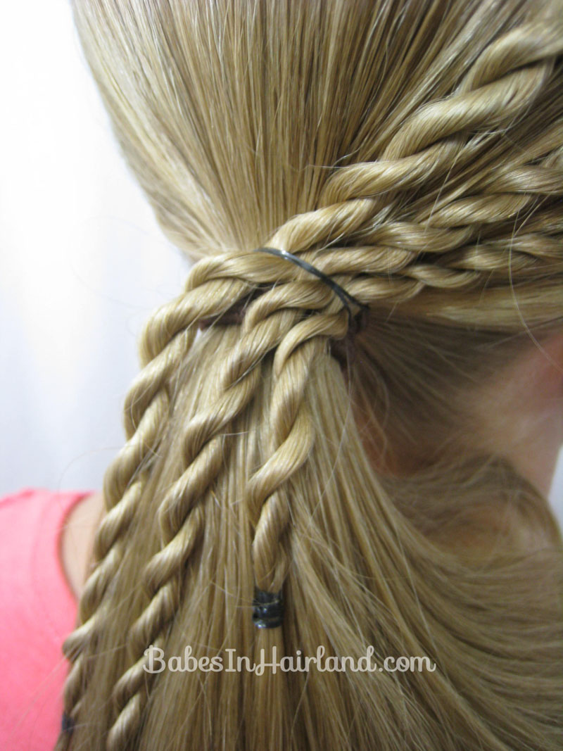 Quick And Easy Hairstyles For School Step By Step ...